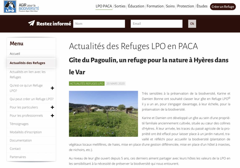 Actualite refuge