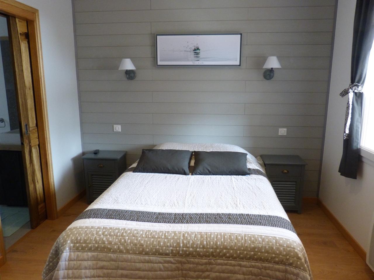 Gite T3 - 4 pers - 57 m2 : chambre 2